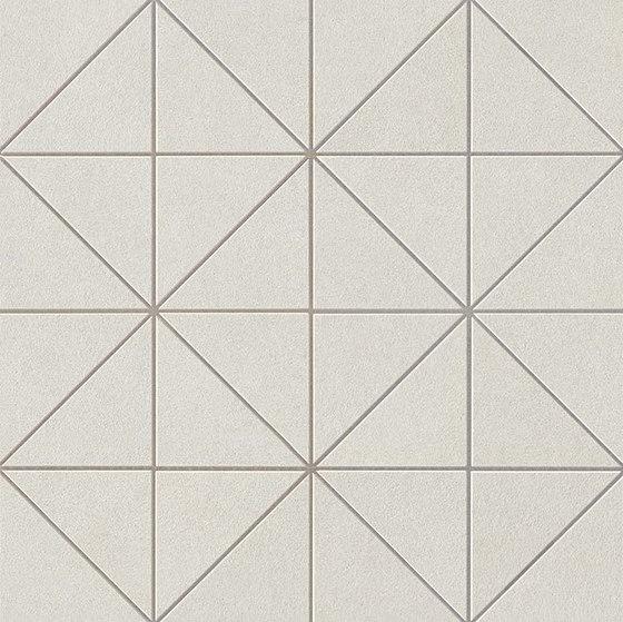 Arkshade white prisma mosaico de Atlas Concorde | Mosaicos de cerámica