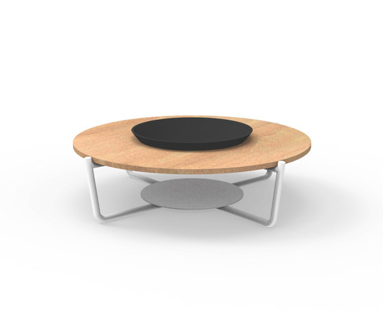 Domino | Round Coffee Table by Talenti | Coffee tables