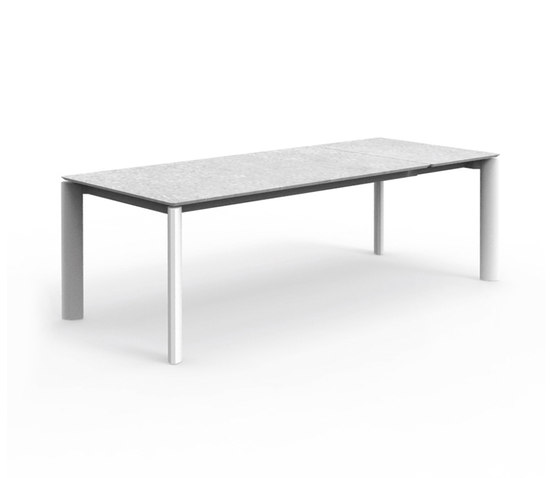 Milo | Extending Ceramic Dining Table 160X95 di Talenti | Tavoli pranzo