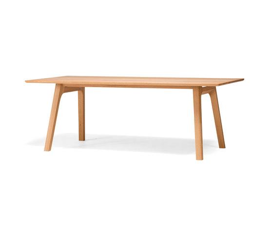 TEN Dining Table solid wood top di Conde House | Tavoli da pranzo