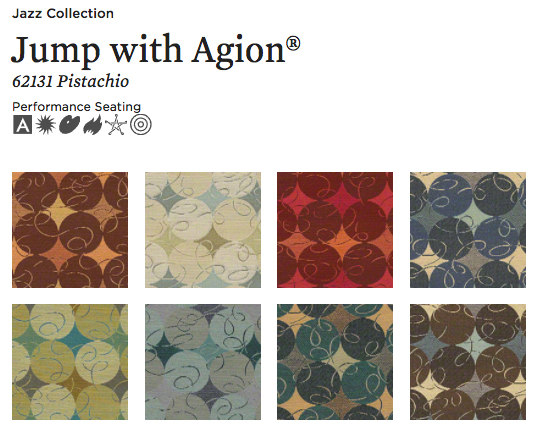 Jump with Agion® by CF Stinson | Upholstery fabrics