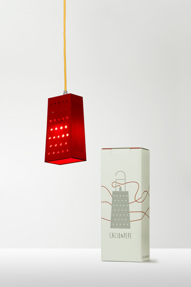 Cacio&pepe S red de IN-ES.ARTDESIGN | Suspensions