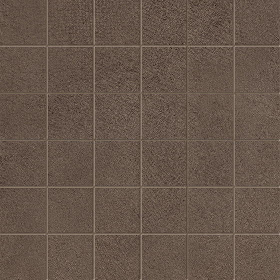 Medley Mosaic _04brown by Ceramiche Supergres | Ceramic mosaics