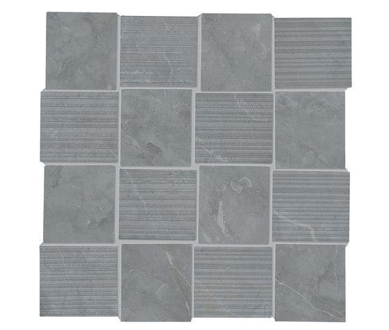 Purity Imperial Grey Intreccio Decorato LUX by Ceramiche Supergres   Ceramic tiles