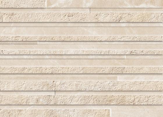 Purity Royal Beige 3D Line von Ceramiche Supergres | Keramik Fliesen