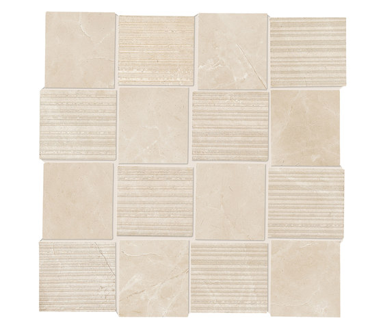 Purity Royal Beige Intreccio Decorato LUX by Ceramiche Supergres | Ceramic tiles