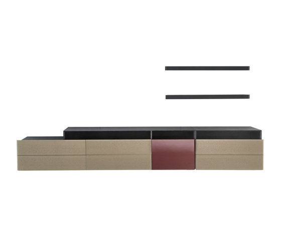 Jour | cabinet system by HC28 | Wall storage systems