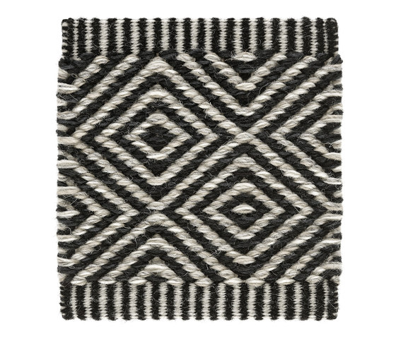 Häggå Goose Eye | Almost Black-Winter Landscape 9537-9835 by Kasthall | Rugs
