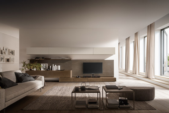 I-modulART_352 by Presotto | Wall storage systems
