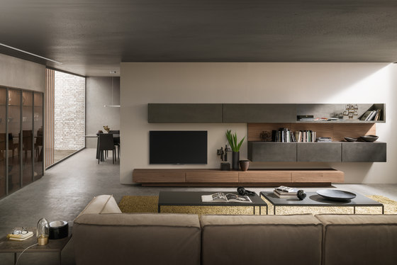 I-modulART_354 by Presotto | Wall storage systems
