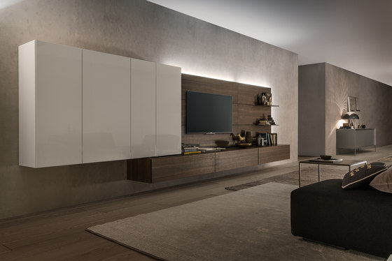 I-modulART_358 by Presotto | Wall storage systems