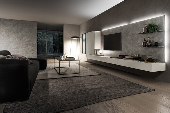 I-modulART_360 by Presotto | Wall storage systems