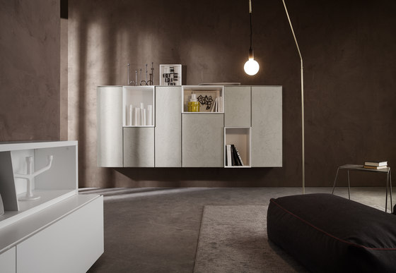 I-modulART_368 by Presotto | Wall storage systems