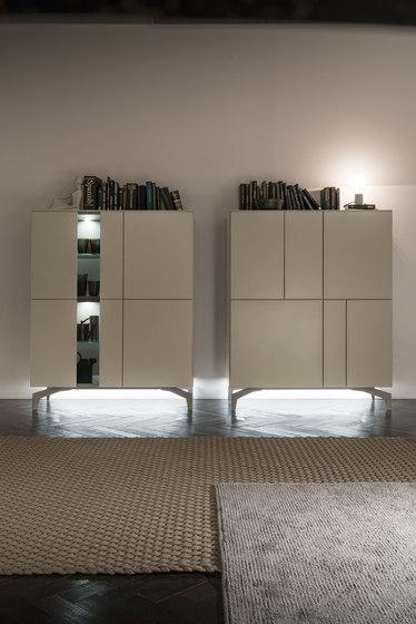 I-modulART sideboard de Presotto | Conjuntos de salón