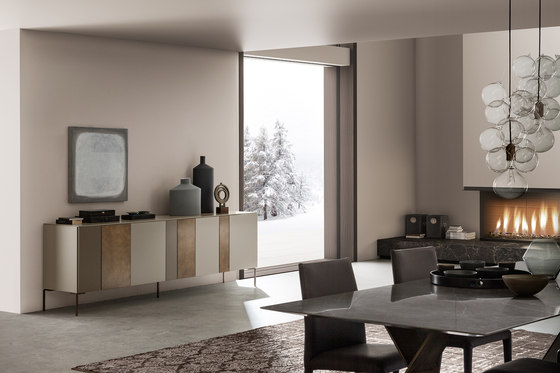 I-modulART sideboard by Presotto | Wall storage systems
