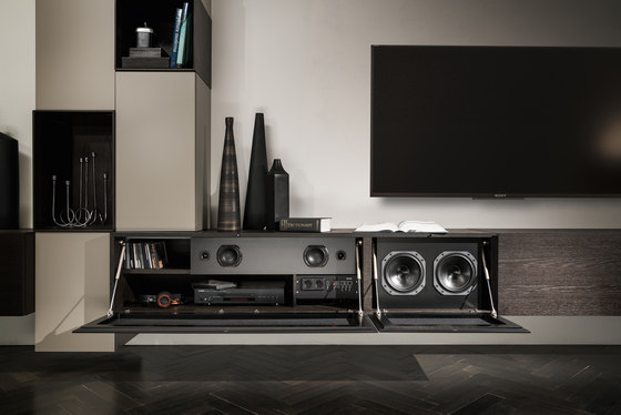 kit Audio by Presotto | Multimedia sideboards