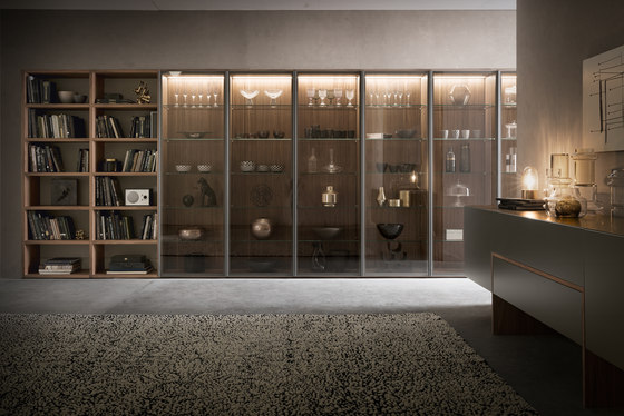 Pari & Dispari _356 by Presotto | Display cabinets