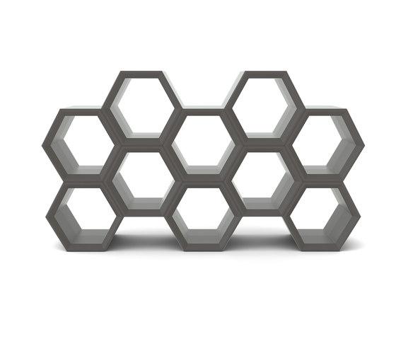 Hexa de Slide   Étagères