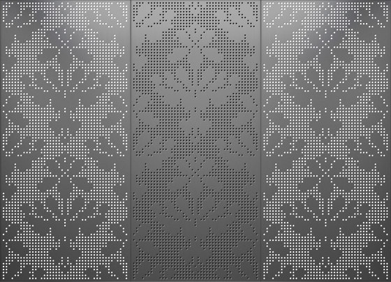 Light and shadow | 04.125.1 | Pattern de ornament.control | Paneles metálicos