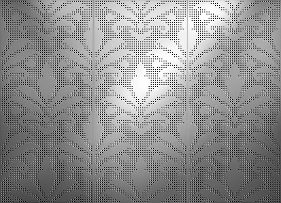 Light and shadow | 04.125.3 | Pattern di ornament.control | Lamiere metallo