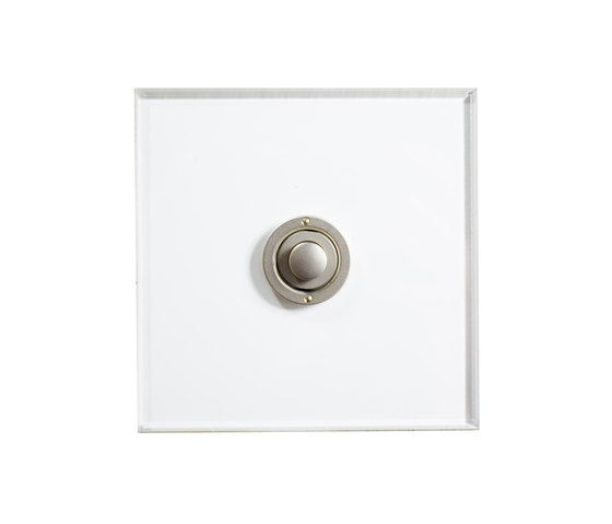 Invisible Lightswitch® with Stainless Steel button dimmer di Forbes & Lomax | interuttori pulsante