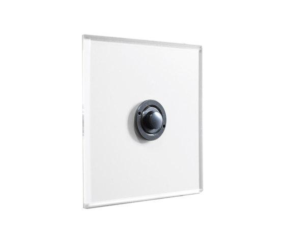 Invisible Lightswitch® with Antique Bronze button dimmer di Forbes & Lomax   interuttori pulsante