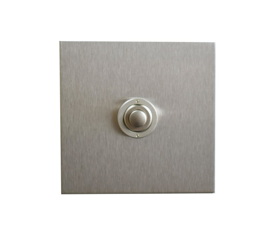 Stainless Steel button dimmer di Forbes & Lomax | interuttori pulsante