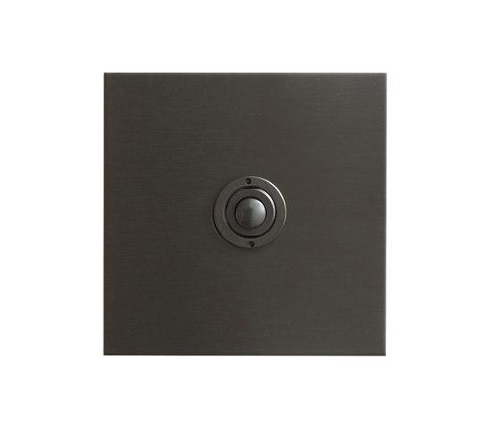 Antique Bronze button dimmer di Forbes & Lomax | interuttori pulsante