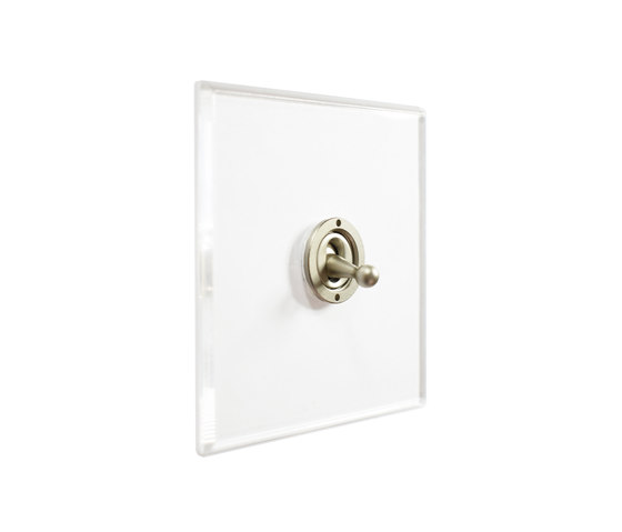 Invisible Lightswitch® with Stainless Steel dolly di Forbes & Lomax   Interruttori leva
