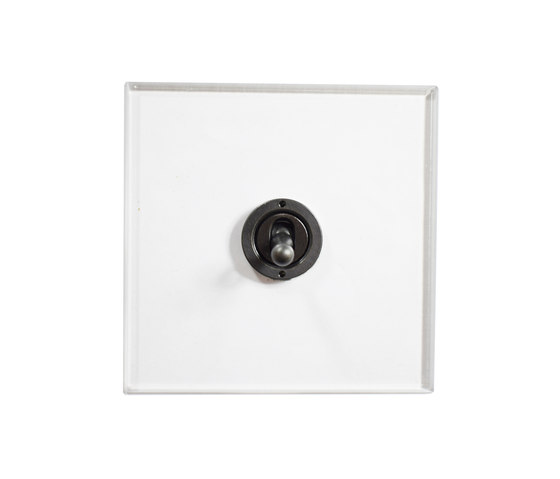 Invisible Lightswitch® with Antique Bronze dolly di Forbes & Lomax | Interruttori leva