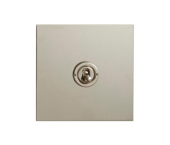 Nickel Silver dolly switch di Forbes & Lomax | Interruttori leva