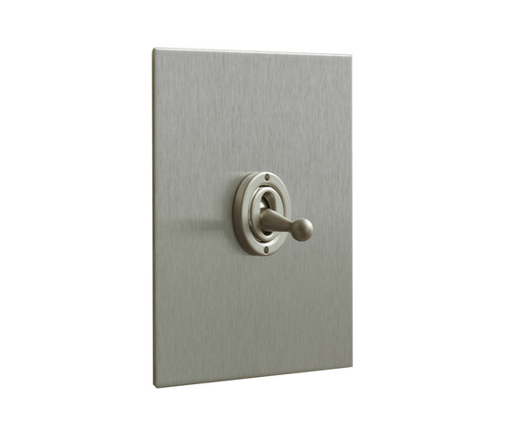Stainless Steel dolly switch di Forbes & Lomax | Interruttori leva