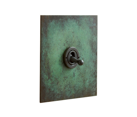 Verdigris dolly switch by Forbes & Lomax | Toggle switches