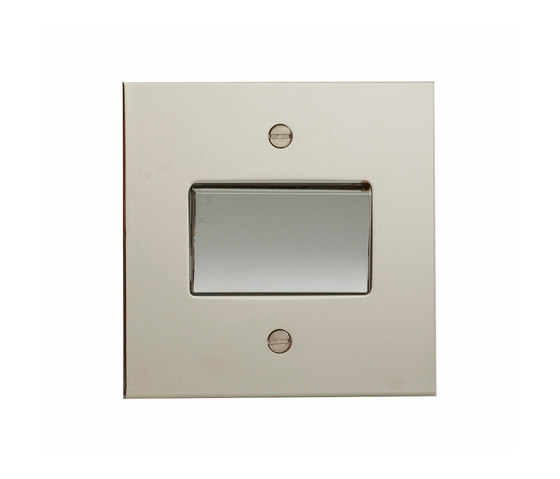 Nickel Silver fan switch by Forbes & Lomax | Two-way switches