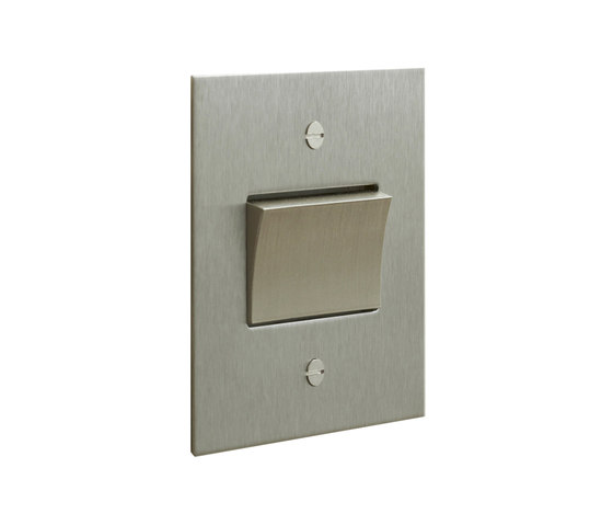 Stainless Steel fan switch by Forbes & Lomax   Two-way switches