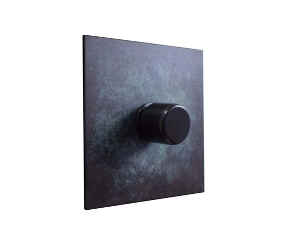 Verdigris rotary dimmer by Forbes & Lomax | Rotary switches
