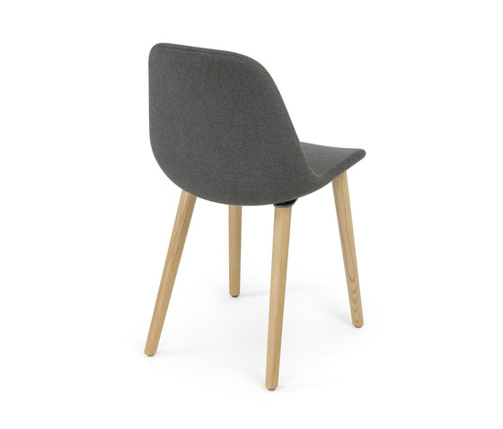 Pola Light R/4W by Crassevig | Visitors chairs / Side chairs