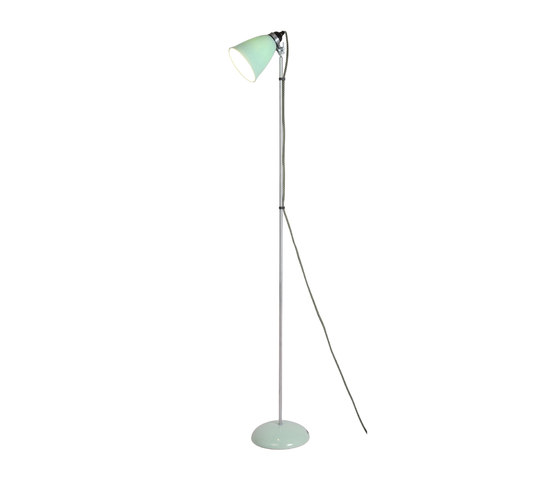 Hector Medium Dome Floor Light, Light Green by Original BTC | Free-standing lights