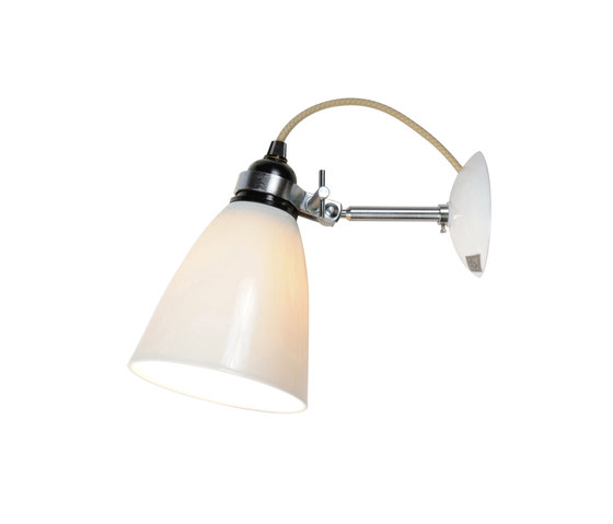 Hector Medium Dome Wall Switched, Natural by Original BTC | Reading lights