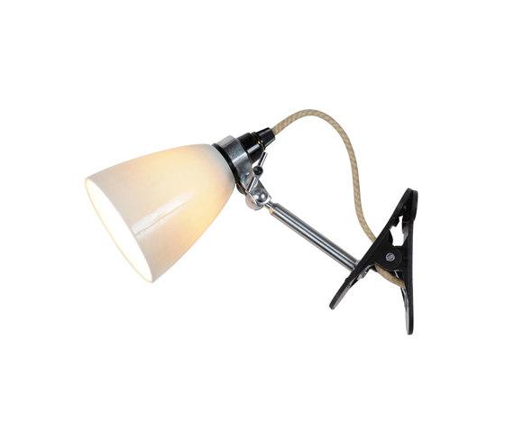 Hector Small Dome Clip Light, Natural de Original BTC | Luminaires spéciaux