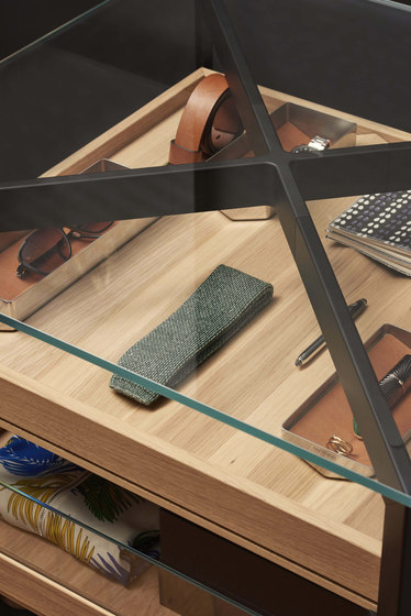 b Solitaire glass by bulthaup | Display cabinets