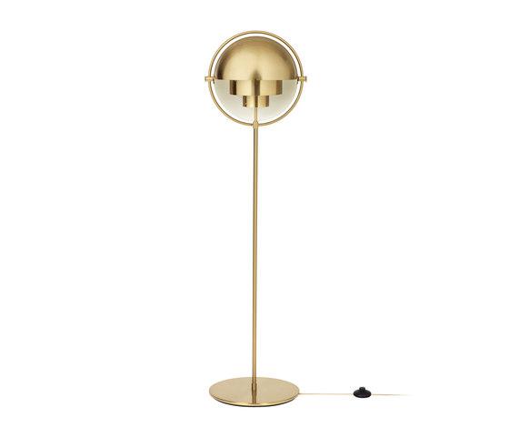 Multi-Lite Floor Lamp   All Brass von GUBI   Allgemeinbeleuchtung