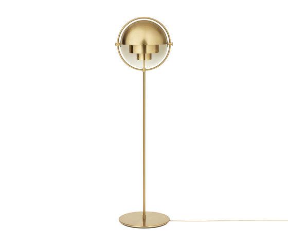 Multi-Lite Floor Lamp | All Brass von GUBI | Free-standing lights