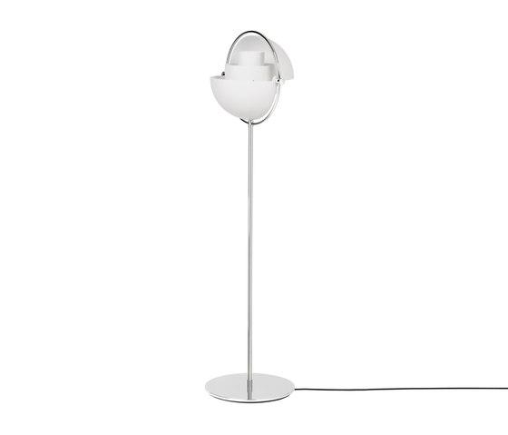 Multi-Lite Floor Lamp | Chrome/White by GUBI | Free-standing lights
