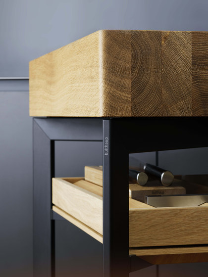 b Solitaire oak by bulthaup | Side tables