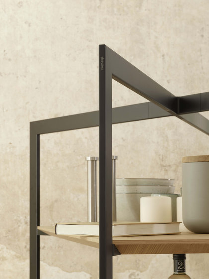 b Solitaire shelf unit by bulthaup | Shelving