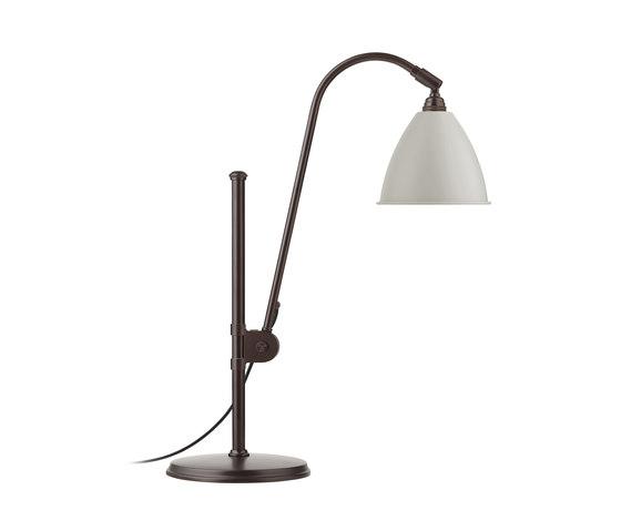 Bestlite BL1 Table lamp   Black Brass/Classic White by GUBI   Table lights