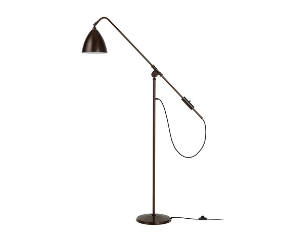 Bestlite BL4 Floor lamp   All Black Brass by GUBI   Free-standing lights