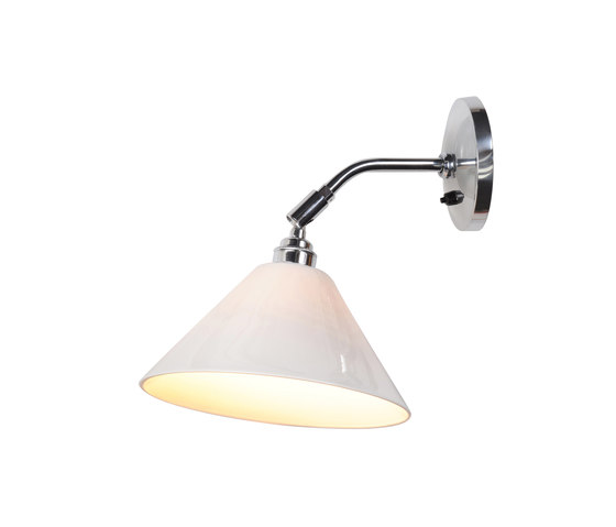 Task Ceramic Short Wall Light, Natural by Original BTC | Wall lights