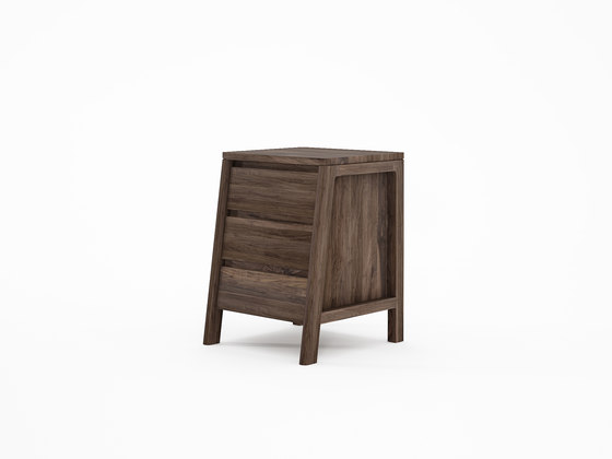 Circa17 SIDE TABLE WITH THREE DRAWERS de Karpenter | Tables d'appoint